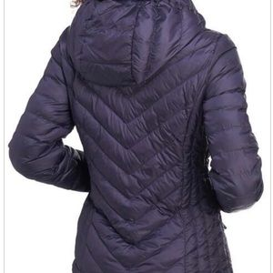 32 DEGREES Quilted Down Hooded Puffer Coat